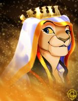 Queen Lioness by dyb