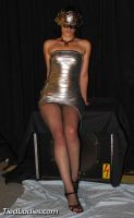 Loolove : Glamour in Silver Dress. by PhMBond