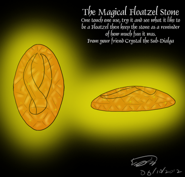 The Magical Floatzel Stone by Threehorn