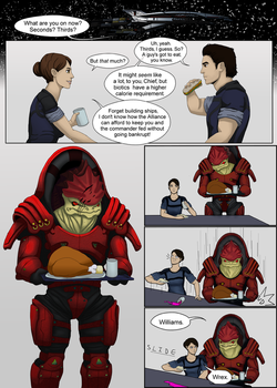 Mass Effect: Hide And Seek P2.1 by EightyEightDoodles