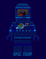 SPACESHIP - Benny Collage by Electric-Bluejay