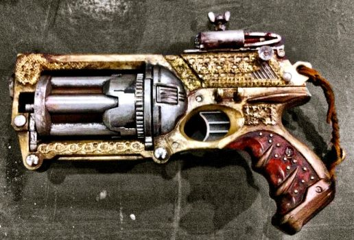 this is the first in a series of custom nerf guns by steam-pistols