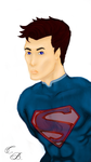 Superman Color by TwinBeastC