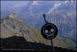 Shilthorn Hike Warning by AndySerrano