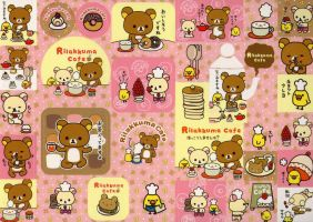 cute rilakkuma cafe by tristan19019