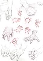 Hands by NoName-Face