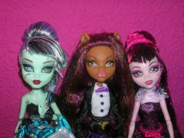 Las chicas Sweet1600 by fanmonsterhigh