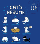 Woot Shirt - Cat's Resume by fablefire