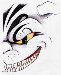 Cheshire Cat 001 by Freetha