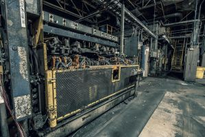 Car Plant Machinery by 5isalive
