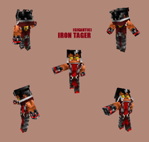 Minecraft-Iron Tager by MC-Dread