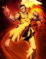 Street fighter - Sean by GENZOMAN