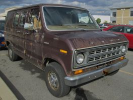 (1978) Ford Econoline Chateau [Beater] by auroraTerra