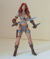 Red Sonja custom action figure 5 by Xenomrph