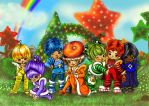 Rainbow Brite: The Color-Kids by AmarineCraft