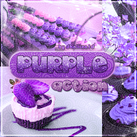 +Cute Purple Action :3 by Dhaliixa1D