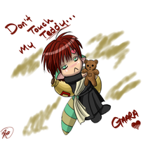 Gaara's Teddy by Kaarnishia