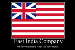 East India Co demotivator by Party9999999