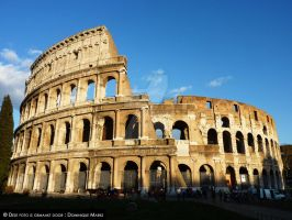 Colosseum Roma by DRM1992
