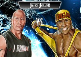 The Rock vs Hulk Hogan by Bardsville