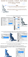 2D Graphic Chat Pose Tutorial by AcidPaw