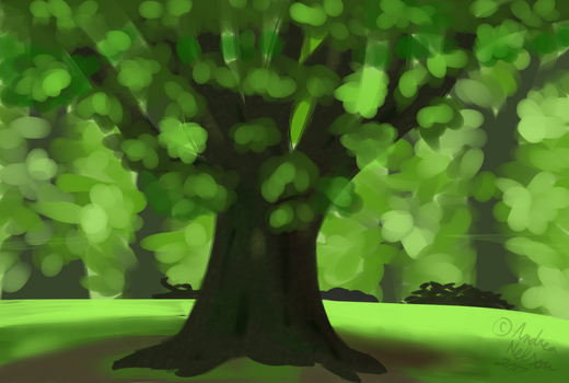 Tree Study by milkynova