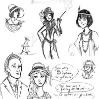 Sketchdump - 20s by ShamanEileen
