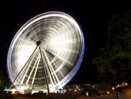 High Octane Ferris Wheel by angusfk