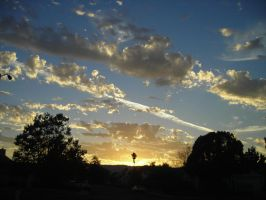 Sunset over Vacaville by Wallsk8r