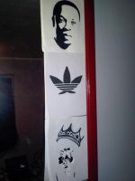 My Three Stencils by SeanJJ