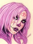 Day of the Dead Girl 2 by PandorazBox