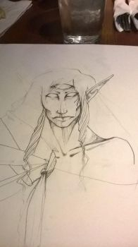 (WIP) elfy elf by Cagastric