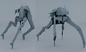 T-17 Mobile assault walker by Jholliday