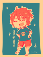 fa: Free! ES : Minishiba [Palette Challenge] by 7-8jf