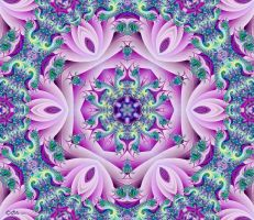 Pink Lotus Mandala by Shadoweddancer