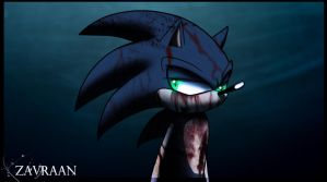 Dark Sonic by zavraan