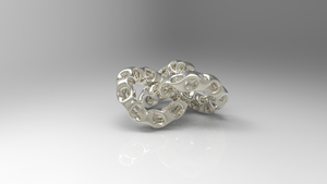 Chain Link Torus Knot by Tate27kh