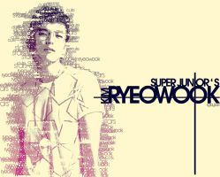 Ryeowook - typography by 7even-is-jet