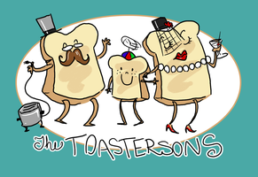 Toast Family by Karwei