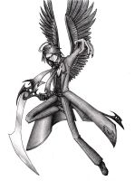 Death angel by MisfitMagpie