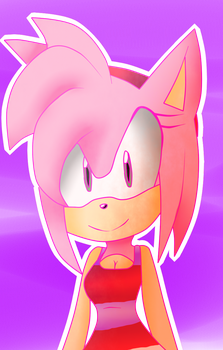 Amy rose by PEGASISTER2251