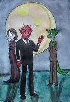 Miserywille inc. Human Size by TiElGar