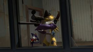 'Somemon's about to have a very bad day' by RandomMadnessityfier