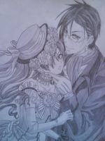 Ciel and Sebastian by mulu1