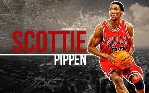 Scottie Pippen Wallpaper by IshaanMishra