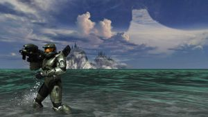 Master Chief - Halo 3 by Hischar