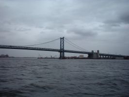 Ben Franklin Bridge by raverqueenage