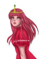 Princess Bubblegum by jujubeaann