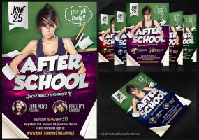 After School Party Flyer by dennybusyet