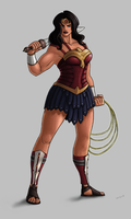 Wonder Woman by Green-Mamba